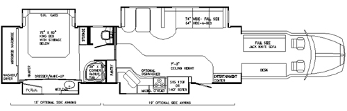 semi truck floor plans. We start by working directly with our customer on there floor plan  coach design Everyone has different needs wants planning a build Custom Motor Homes Construction Information