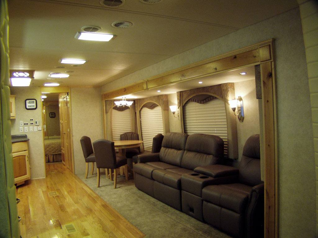 Customized Coach 6 Interior Pictures