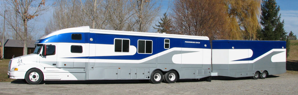 Custom Motor Home Coach 19 Exterior Pictures