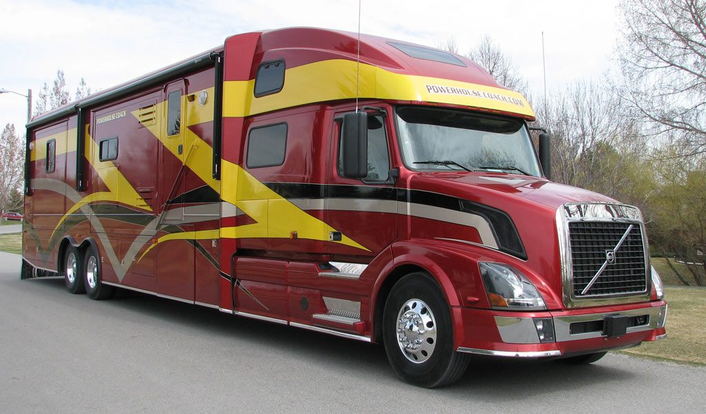 Popular 2003 Kingsley Coach Custom RV Toy Hauler W2 Slides 48ft RV HAS SOLD